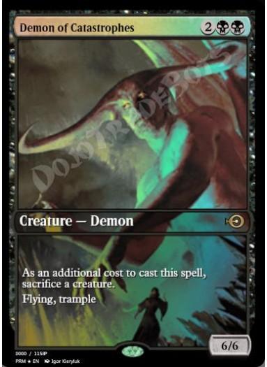 Demon of Catastrophes FOIL