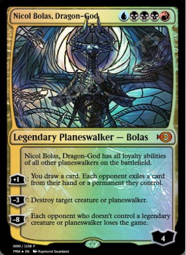 Nicol Bolas, Dragon-God (Japanese) FOIL