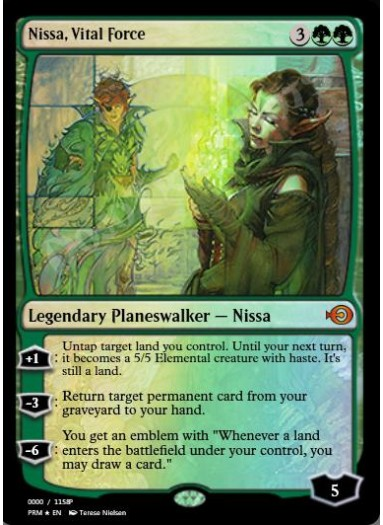 Nissa, Vital Force FOIL