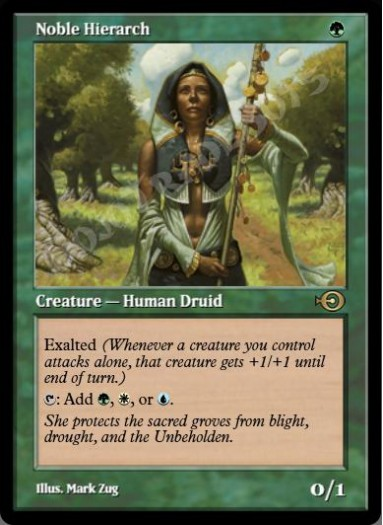 Noble Hierarch (Original Art)