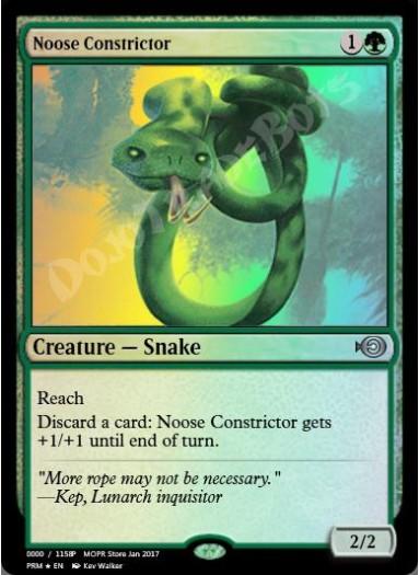 Noose Constrictor FOIL