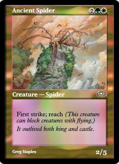 Ancient Spider FOIL