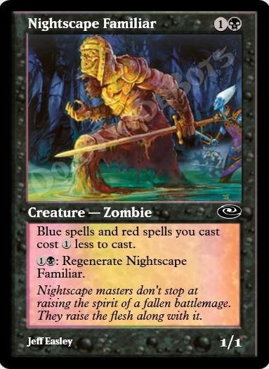 Nightscape Familiar FOIL