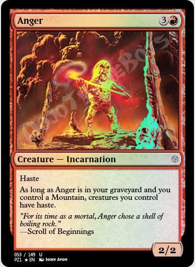 Anger FOIL