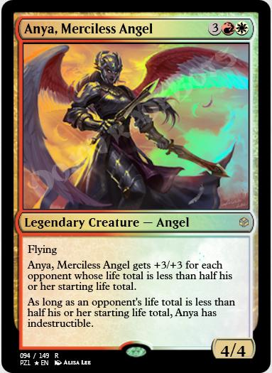 Anya, Merciless Angel FOIL