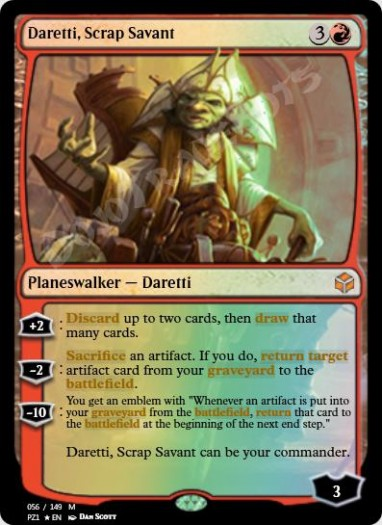 Daretti, Scrap Savant FOIL