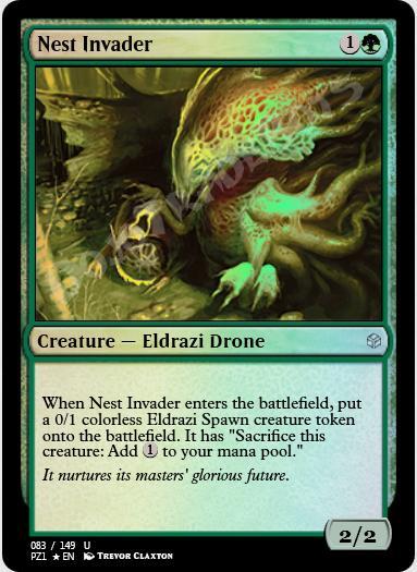 Nest Invader FOIL