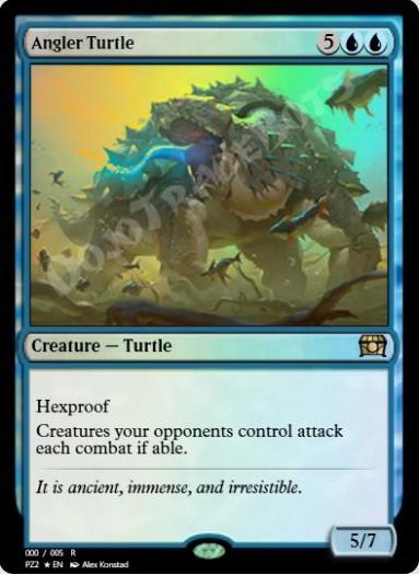 Angler Turtle FOIL