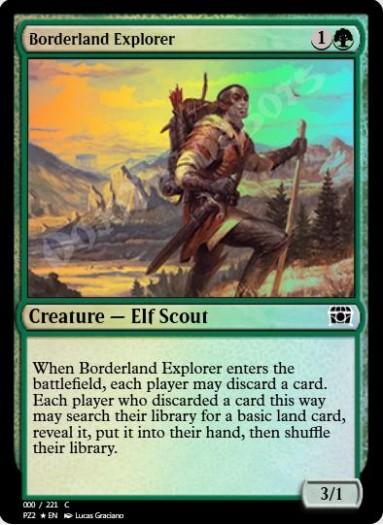 Borderland Explorer FOIL