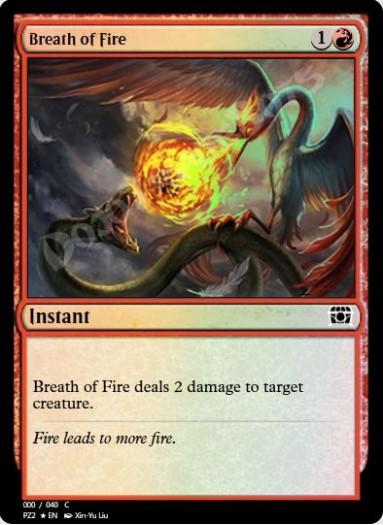 Breath of Fire FOIL