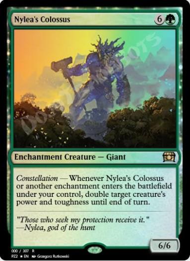 Nylea's Colossus FOIL