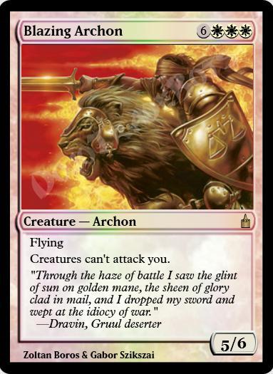 Blazing Archon FOIL