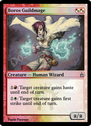 Boros Guildmage FOIL