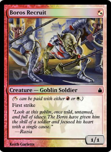 Boros Recruit FOIL