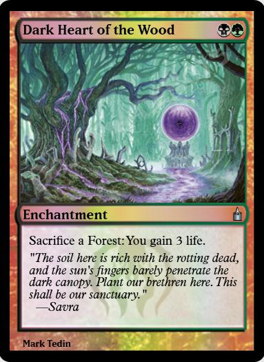 Dark Heart of the Wood FOIL