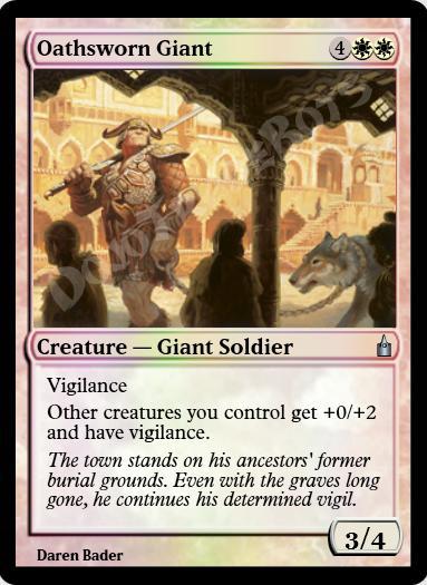Oathsworn Giant FOIL