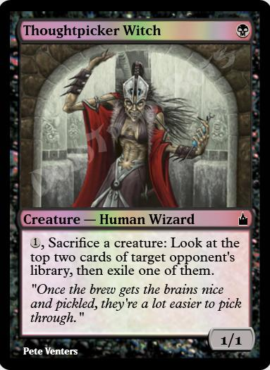 Thoughtpicker Witch FOIL