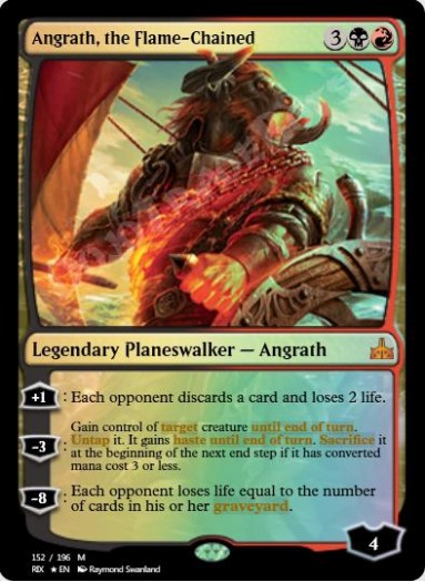 Angrath, the Flame-Chained FOIL