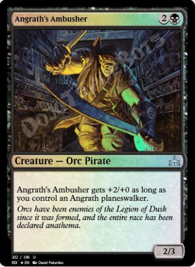 Angrath's Ambusher FOIL