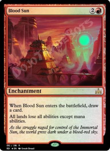 Blood Sun FOIL