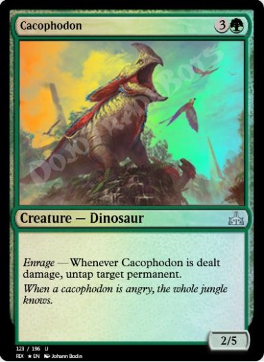 Cacophodon FOIL