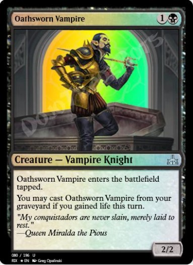 Oathsworn Vampire FOIL