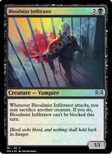 Bloodmist Infiltrator FOIL