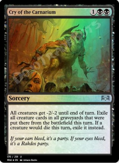 Cry of the Carnarium FOIL