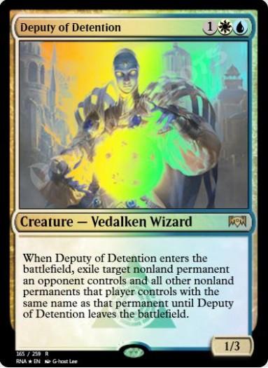 Deputy of Detention FOIL