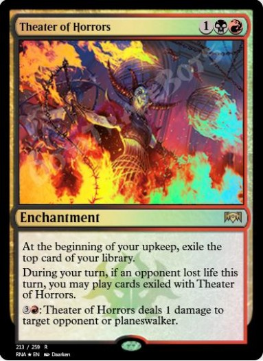 Theater of Horrors FOIL