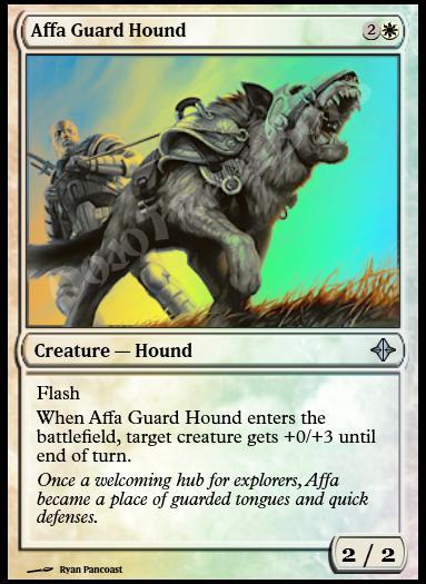 Affa Guard Hound FOIL
