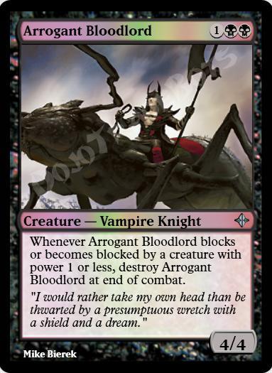 Arrogant Bloodlord FOIL