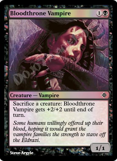 Bloodthrone Vampire FOIL