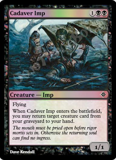 Cadaver Imp FOIL