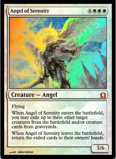 Angel of Serenity FOIL