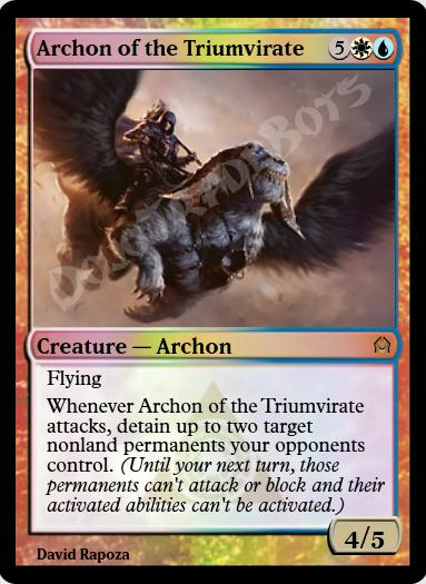 Archon of the Triumvirate FOIL