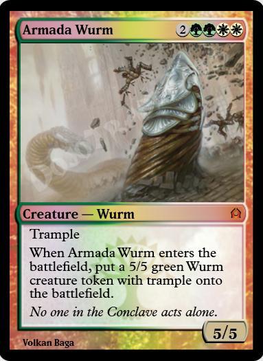 Armada Wurm FOIL