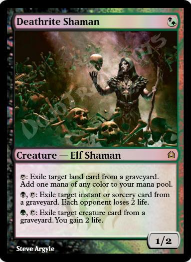Deathrite Shaman FOIL