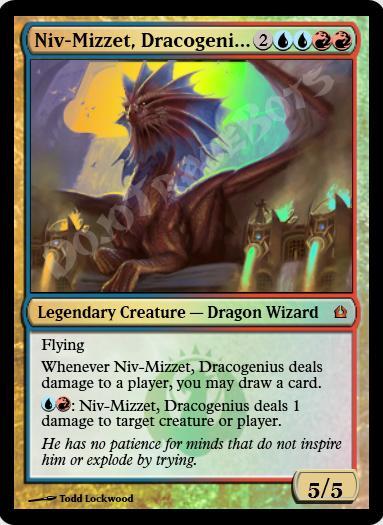 Niv-Mizzet, Dracogenius FOIL