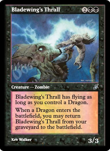 Bladewing's Thrall FOIL