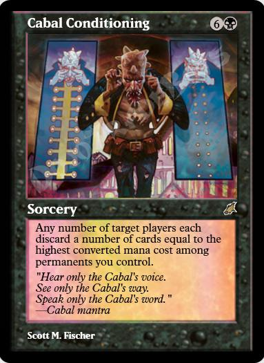 Cabal Conditioning FOIL