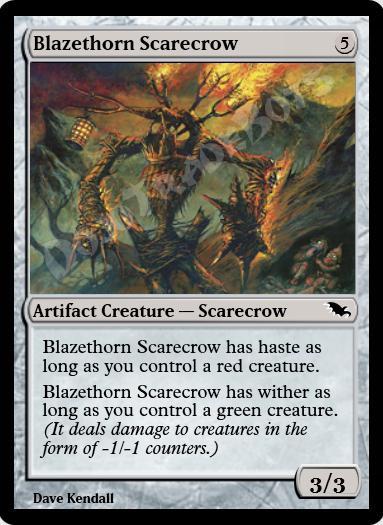Blazethorn Scarecrow