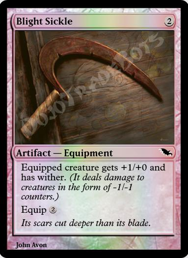 Blight Sickle FOIL