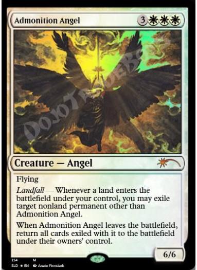 Admonition Angel FOIL