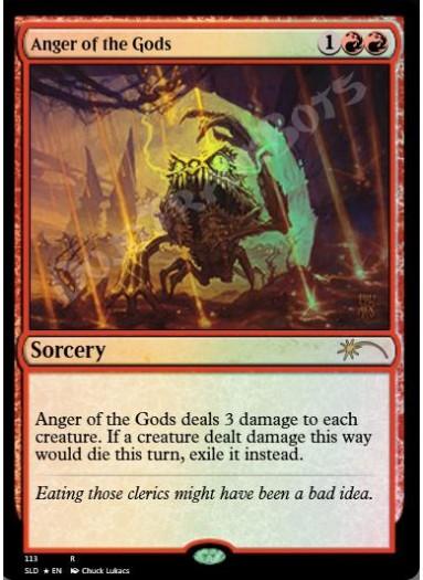 Anger of the Gods FOIL