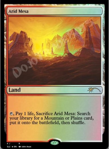 Arid Mesa FOIL