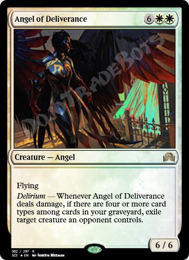 Angel of Deliverance FOIL