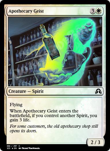 Apothecary Geist FOIL