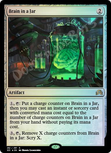Brain in a Jar FOIL