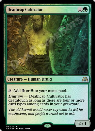 Deathcap Cultivator FOIL